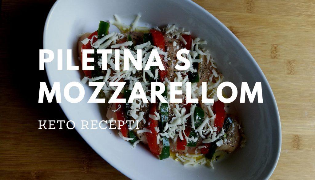 Keto recepti piletina s Mozzarellom